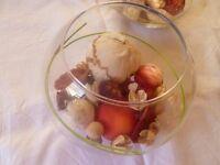 6 Fish Bowl Wedding Table Decorations