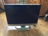 Wharfedale 19in HD ready LCD TV, with remote