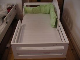 Oeuf Toddler Bed plus extra brand new mattress plus additional side protectors
