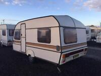 1992 abi ace globetrotter 3/4 berth elddis swift caravan CAN DELIVER must clear January bargain