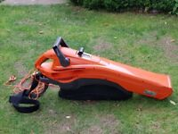 garden leaf blower and vacuum