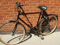 Vintage bicycle/shopper