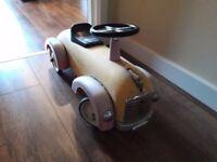 Vintage Baghera Childs Ride on Hot Rod Car