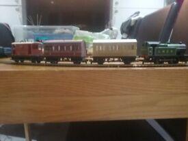 Hornby steam train set