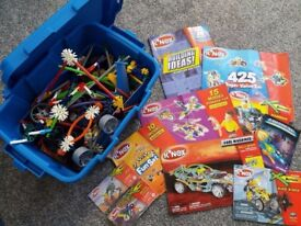 K'Nex box jam packed full of numerous different sets. From smoke free, pet free home.