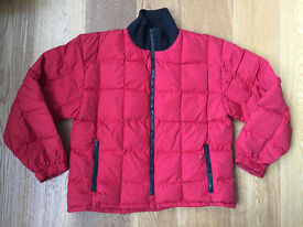 Down Jacket by JIGSAW in red colour