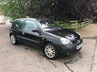 For sale 2004 (petrol) Renault cleo 1-2lt 3 door