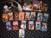 Various Star Wars books and magazines.