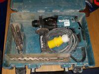 110 makita hammer drill and transfer