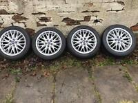 "Ford Focus 17"" multi spoke alloy wheels"
