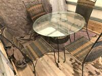 Dining table 4 chairs can deliver