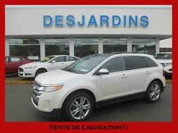 2013 Ford Edge FWD Limited *INSPECTÉ* NAV / CUIR / TOIT PANO / C