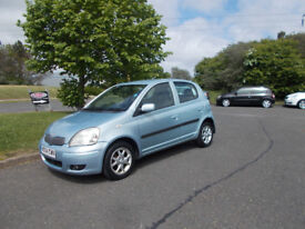 TOYOTA YARIS 1.3 BLUE LIMITED EDITION 2004 ONLY 85K MILES BARGAIN ONLY £695 *LOOK* PX/DELIVERY