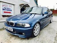 BMW 325i M-SPORT CONVERTIBLE HARDTOP £2695!!