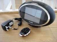 Pure Sensia Internet WiFi Touch Screen DAB AM FM Clock Radio