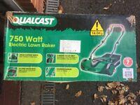 Qualcast lawn rake (750W)