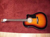 Fender electro acoustic guitar CD-60CE excellent condition