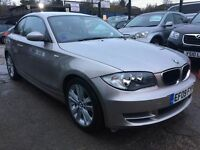 BMW 1 Series 2.0 120d SE 2dr£5,995 p/x welcome FREE WARRANTY, NEW MOT