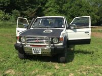 Pajero 2.5td 1993 £1500 4x4 off road towing workhorse.