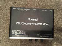Roland Duo-capture ex interface