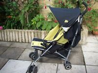 Maclaren Quest pram/stroller (with instruction manuel)