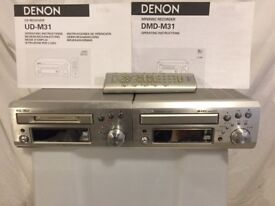 Demon DMD M31 Mini Disc Recorder and UD-M31 CD Receiver.