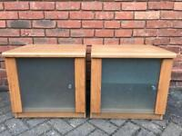 Two bed side Cabinets