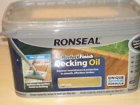 RONSEAL DECKING OIL KIT X 2