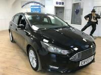 FORD FOCUS 1.0 ZETEC 5d 100 BHP 6 MONTHS WARRANTY (black) 2015