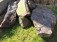 Stones/Rocks for Rockery/Rockeries - Free to Uplift