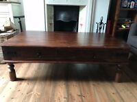 John Lewis Maharani 4-Drawer Coffee Table