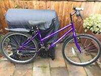 """Ladies 17"""" Townsend bike bicycle. FREE lights & mudguards. Delivery & D lock available"""