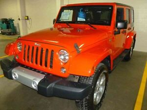 2014 JEEP Wrangler Unlimited UNLIMITED, SAHARA , NAVY , AUTO ,