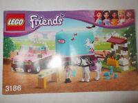 LEGO FRIENDS HORSE BOX 3186
