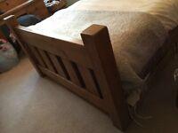 Indigo Furniture Granger's Plank Double Bed