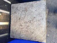 paving stones aprox 30 cm x 30 cm
