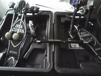 Tama chain driven double iron cobra drum pedal used but in good condition