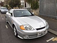 Hyundai Coupe Sports Car 2003 Low Mileage 76k 3 Door HPI Clear