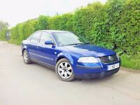 VW Volkswagen Passat 1.9 TDi SPORT PD 130 Bhp 2002 52reg. Spares or repair s breaking engine diesel