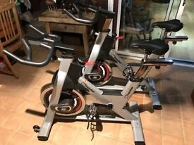 TWO IMPULSE PS300 INDOOR CYCLES FOR SALE
