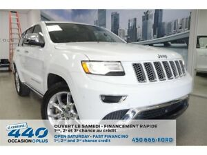 2015 Jeep Grand Cherokee Grand Summit | 5.0L 4x4, CUIR, TOIT, NA