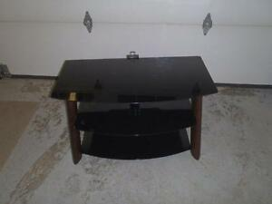 Three Level Glass TV Stand