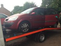 2006 Renault Grand Scenic 1.6 VVT 5dr red TEB76 BREAKING FOR SPARES