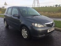 2007 MAZDA 2 DIESEL 1.4 ONLY £30 TO TAX 50 PLUS MPG PX WELCOME