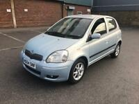 2004/54 TOYOTA YARIS 1.3 FULL TOYOTA SERVICE HISTORY 2 LADY OWNERS 5 DOORS LONG MOT