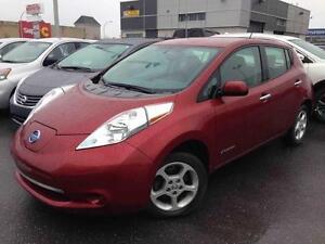 2015 Nissan Leaf SV NAVIGATION JAMAIS ACCIDENTÉ CAMÉRA CERTIFIÉ