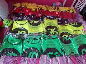 Brand new adult football bibs