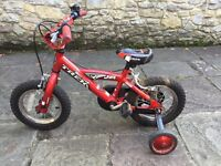 Child's Trek Jet 12 Bicycle with stabilisers