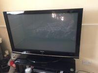 "Samsung Plasma TV 50"" with Tv Trolly"