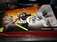 Disney Infinity 3.0 for Wii U plus 4 figures